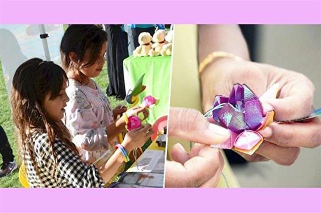 「和平的花瓣」活動宣導理解和寬容,旨在促進世界和平。(大紀元合成)
