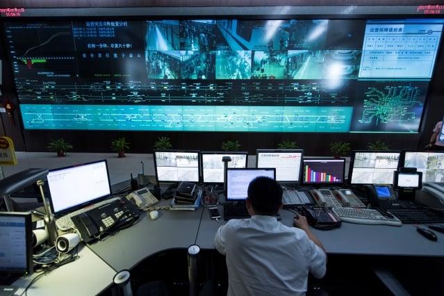 彭博社報導,中共在尚比亞推動的「安全城市」計畫猶如監控「鐵幕」。圖為示意圖。(Getty Images)