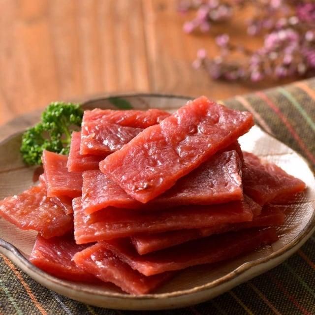 肉乾是人氣伴手禮。(業者提供)
