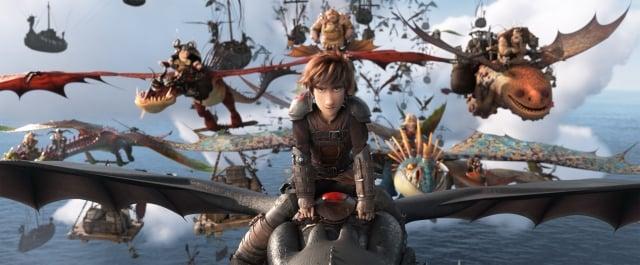 維京人與龍族的關係,可說是貫穿《馴龍高手》3部電影的核心主軸。(環球影業提供)