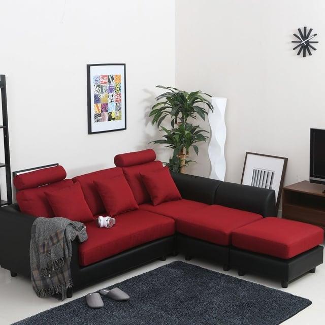 金牛座-機能型加長L型沙發。(業者提供)