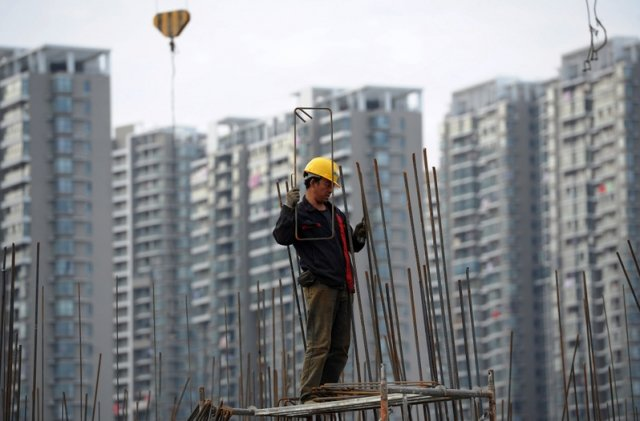 2018年中國新建商品住宅平均價格上漲了12.22%,漲幅創下2010年以來新高。(AFP)