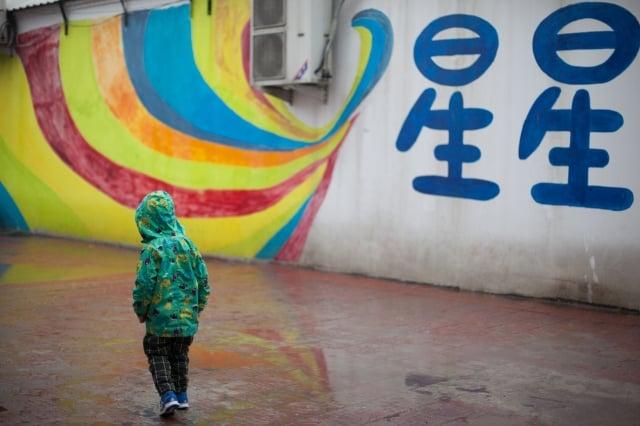 中國自閉症患兒人數眾多,卻得不到應有的治療和服務。圖為北京一名自閉症小男孩。(大紀元資料室)