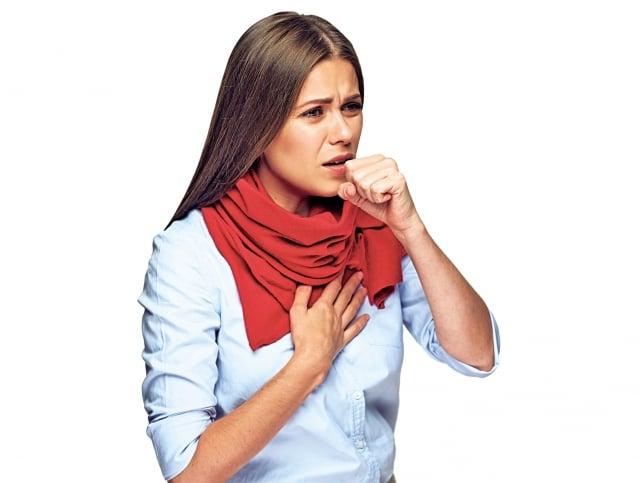 氣喘是一種兼具支氣管慢性發炎與氣道過度反應的疾病,臨床表現型態多元。(Fotolia)