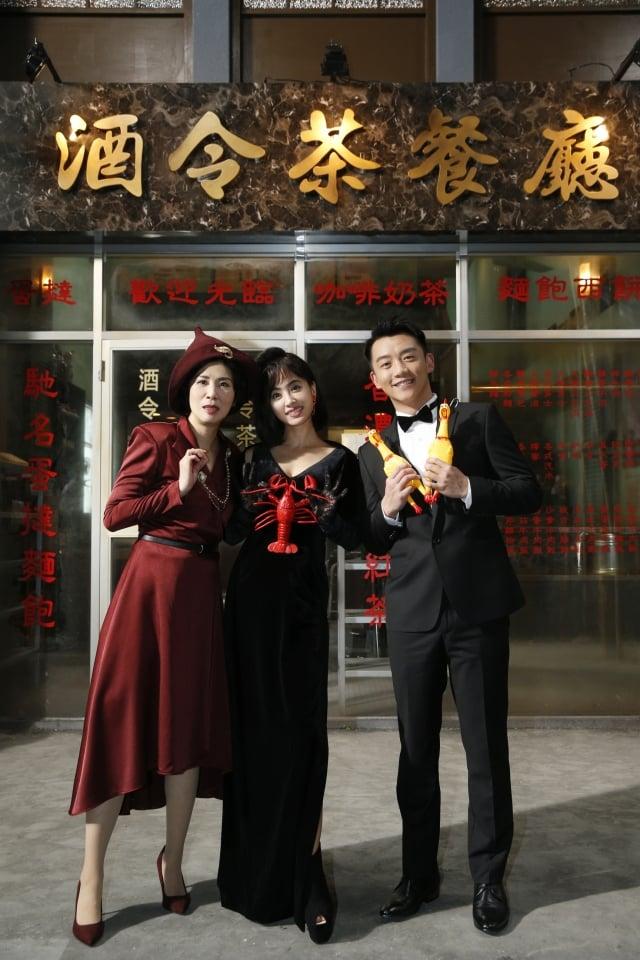 吳君如(左起)、蔡依林、鄭愷。(好朋友工作室提供)