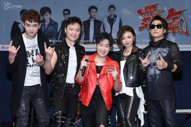 87樂團成員左起樂咖、何豪傑、艾成、王瞳、阿修羅