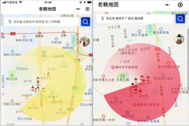 中共利用「老賴地圖」完善大數據,以建立一張全方位無死角、控制每一個老百姓的大網。(微博)