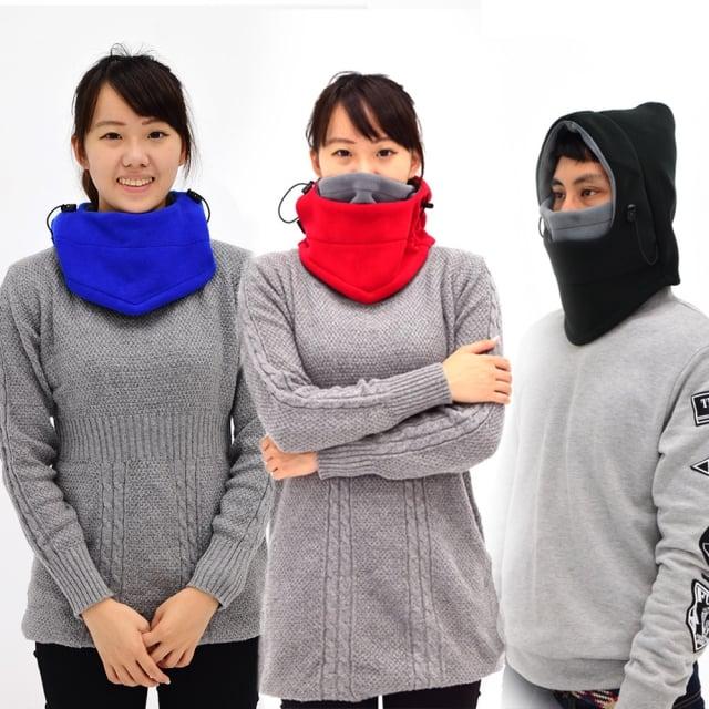 赴雪區必備保暖頭套、頸套。(業者提供)
