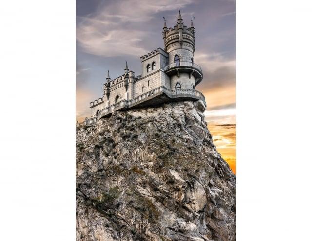 位於烏克蘭的燕窩城堡。(Fotolia)
