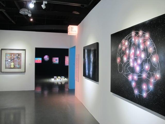 「宇宙連環圖」當代藝術展開幕。