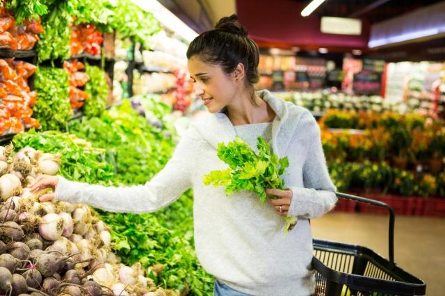 吃有生命力的有機蔬果,人體才會擁有極強的免疫力。(Fotolia)