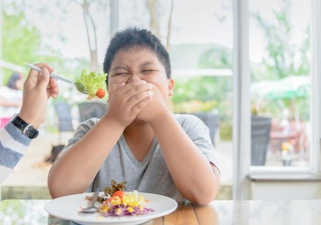 孩子不知道蔬果原有的味道,養分攝取不足,身體得不到滿足,就會尋找零食來填補這種空虛感。(Fotolia)