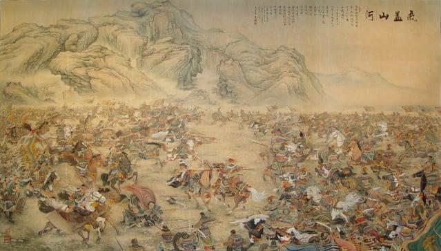 民族英雄岳飛戎馬生涯中,親自參與指揮126仗,未嘗一敗。(王雙寬提供)