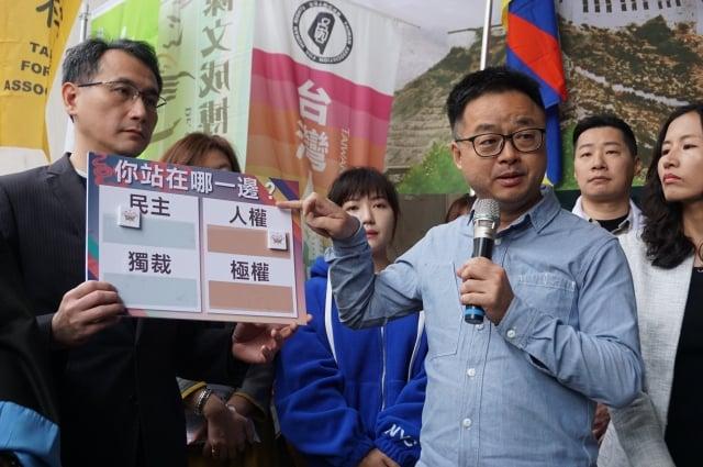 民進黨秘書長羅文嘉7日表示,「和平協議不會換來和平」不要對獨裁政權存有幻想。