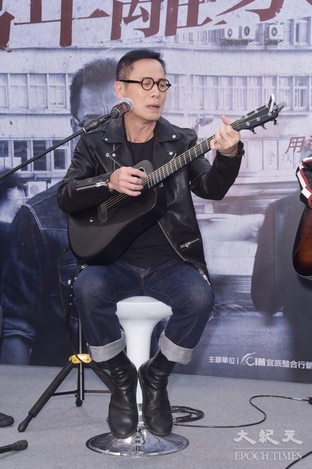 羅大佑7日舉行演唱會門票開賣記者會。(記者黃宗茂/攝影)