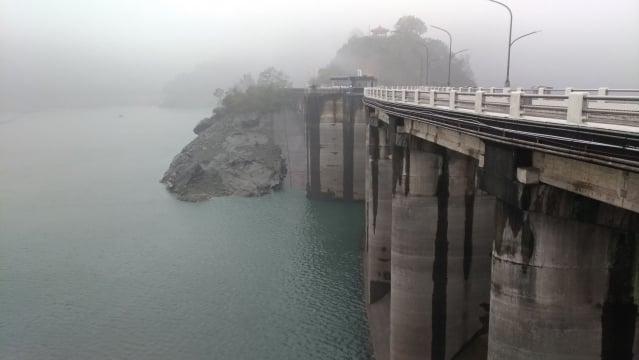 石門水庫降雨後水位逐漸回升,稍稍解「渴」。(北水局提供)