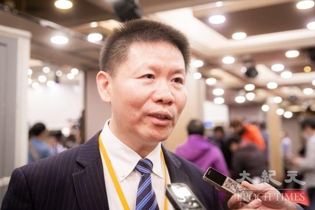 「對華援助協會」主席傅希秋11日表示,「印太區域保衛宗教自由公民社會對話」選在台灣,美國是希望台灣對宗教自由的重視,能成為「山上的城,地上的燈」,不只是照亮台灣人,更應該照亮中國大陸。(記者陳柏州/攝影)