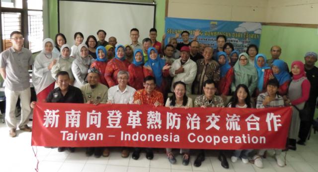 衛福部疾管署舉辦登革熱防治專業技術訓練營,邀請印尼登革熱防治單位人員參與。(中興大學昆蟲學系教授杜武俊提供)