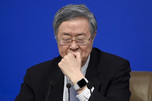 中國人民銀行前行長周小川。圖為資料照。(AFP)
