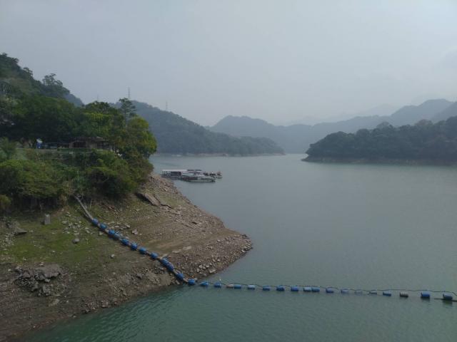 連日下雨解渴,石門水庫水情暫獲穩定。