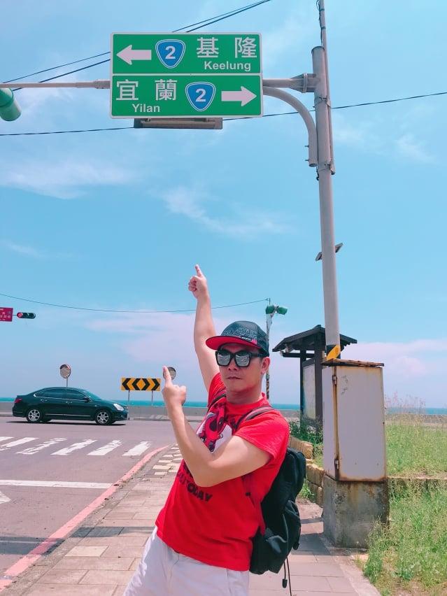 香港影星錢小豪四月中旬展開公益環島之旅(紅心字會提供)