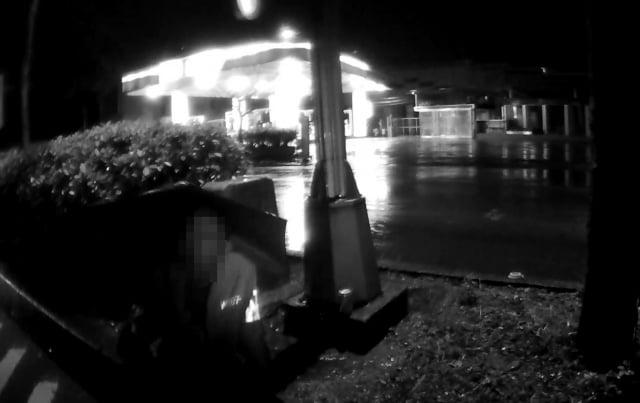 中壢區環西路二段110號附近天雨惡寒,一般人也受不了。