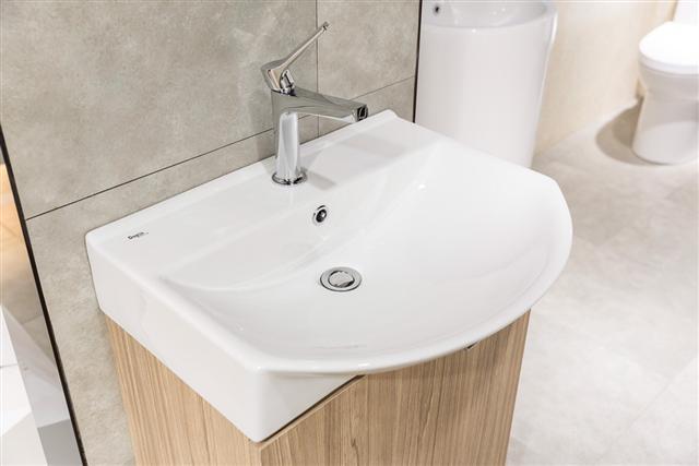 瑭麗莊DoRis輕易打造出心目中理想的衛浴空間。(瑭麗莊提供)