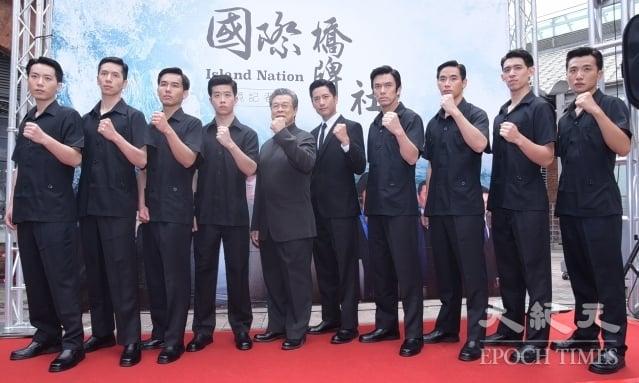 《國際橋牌社》15日舉行開鏡儀式記者會。(記者黃宗茂/攝影)