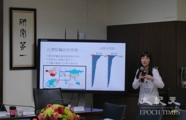 高雄醫學大學醫師李佳蓉。
