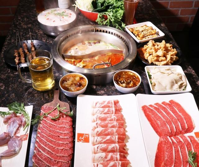 麻辣鍋是聚會不可或缺的選項之一(大紀元資料室)