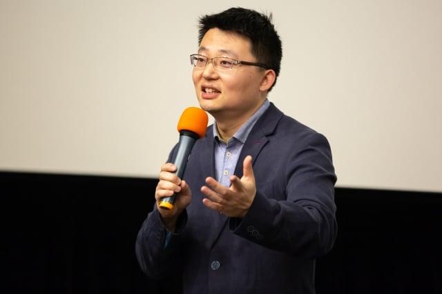 導演李雲翔拍攝《求救信》得到14項國際大獎。(許基東。提供)