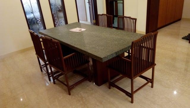6.餐桌宜使用方形或圓形。(三川/攝影)