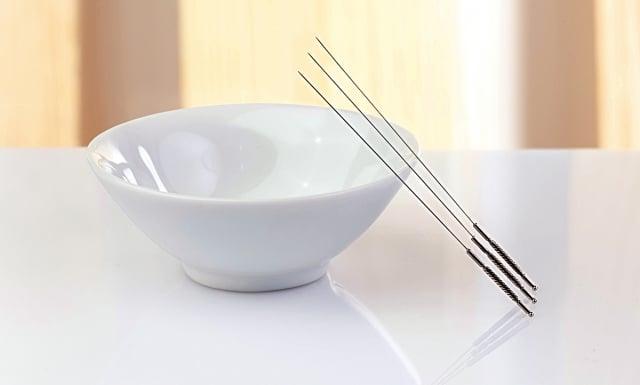 《黃帝內經》記載,針有九種,稱為「九針」。針灸,是傳統中醫學醫術當中的兩種治療方法;一個是針、一個是灸。(Fotolia)
