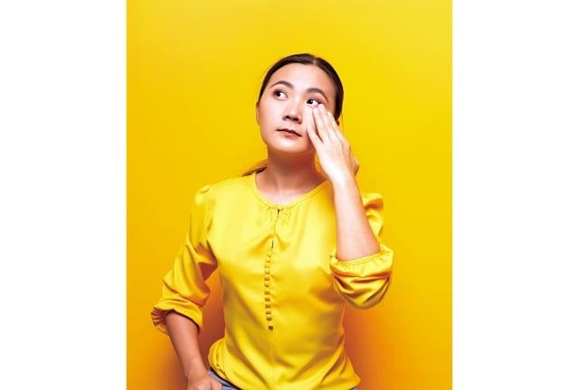 針眼是因眼瞼皮脂腺的開口阻塞,細菌感染引起,發生原因與個人體質,以及衛生、飲食習慣有關。(Fotolia)