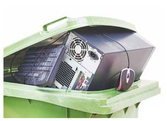 我們也要有資源回收的心態,謹慎地處理與應用,它才會成為有用的資源。(123RF)