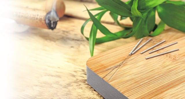 深入了解中醫理論和它的精髓後,知道針灸本身就是非常好的治療工具。(Fotolia)