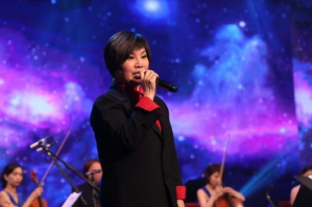 唐美雲錄影民視《台灣的聲音》(民視提供)