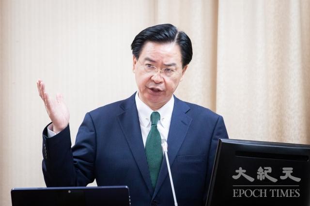 外交部長吳釗燮表示,沒有事情是天上掉下來的,所有成果都是外交部跟美國政府積極協商結果,才有今天。(記者陳柏州/攝影)
