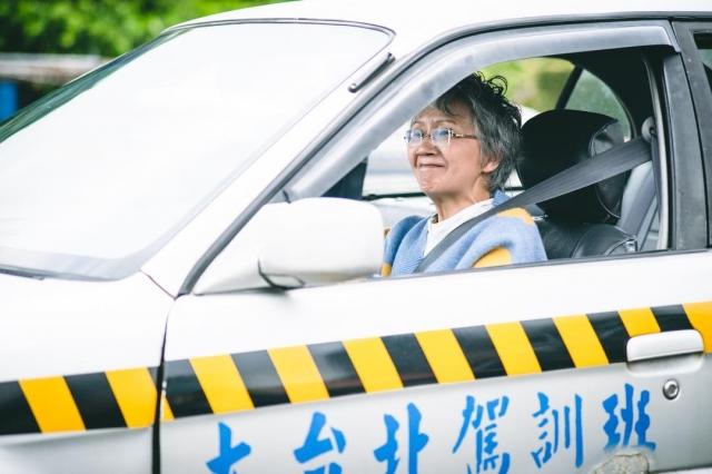 陸弈靜在劇中學開車讓她回憶起20年前緊張學車的時刻
