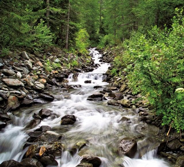 水液的代謝與生命的脈動息息串連,而王維的「清泉石上流」是不是也是一種生理境界?(Fotolia)