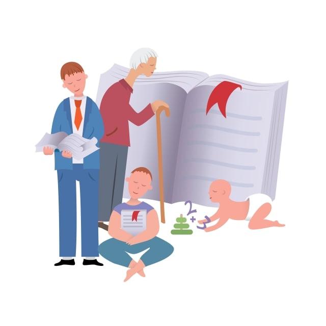 好習慣能讓孩子在潛移默化中、在不受監督的情況下表現出來。(123RF)