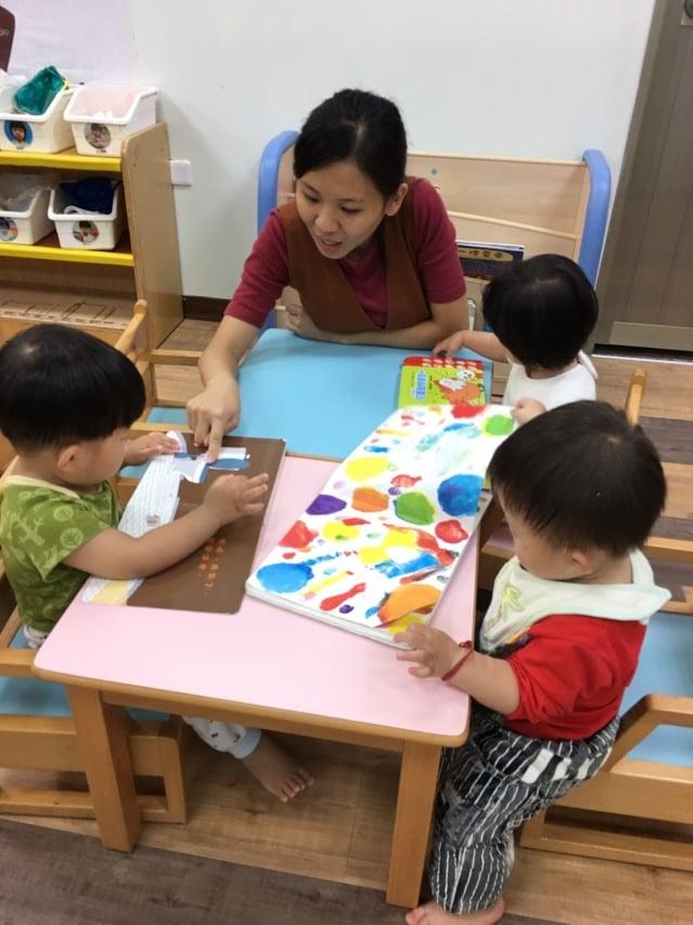 台中市公設民營沙鹿托嬰中心。