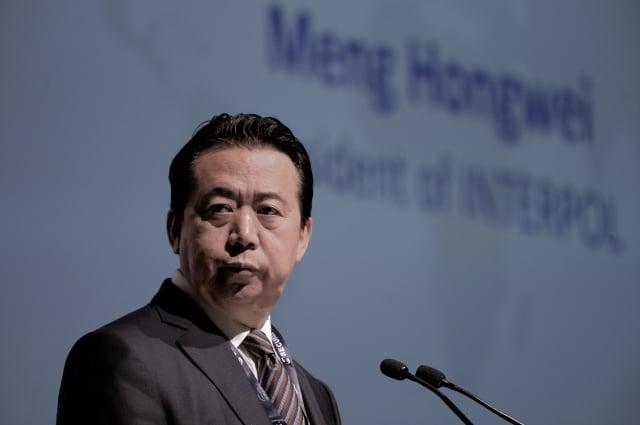 中共公安部前副部長孟宏偉,圖為資料照。(Getty Images)
