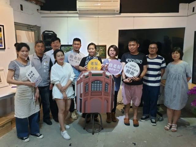 竹市老屋活化有成租金補助第二年開跑(記者林寶雲/攝影)