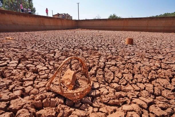 雲南省旱情持續。截至22日,該省農作物乾旱面積超過1,106萬畝。(Getty Images)