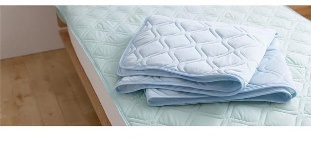 涼感床墊讓人體在睡眠時較為舒適。(業者提供)