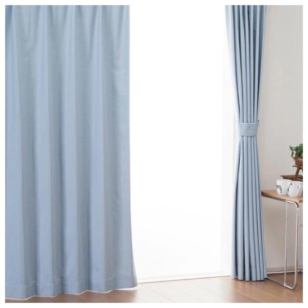 加裝隔熱窗簾,避免室內溫度攀升,能減少冷氣用電量。(業者提供)