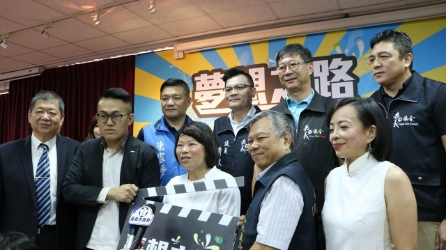市長黃敏惠接受聯訪。