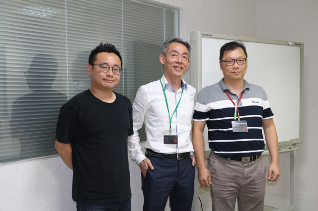 董事長徐學賢(中)理論和簡報完整,不是最重要的。(攝影/吳雁門)