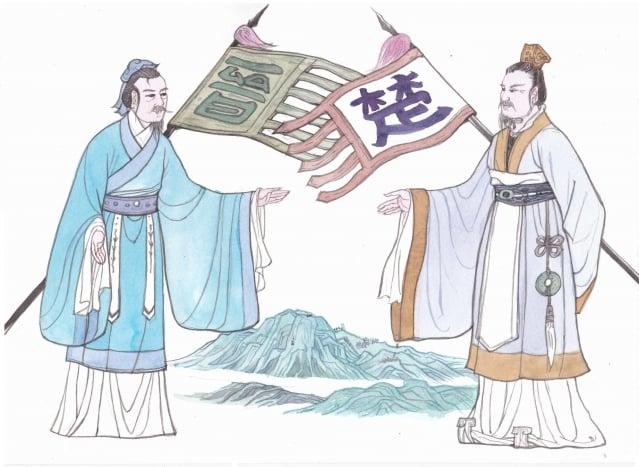 有信之人才得以立也,晉文公兌現了退避三舍的諾言,無愧地贏得一戰。(圖/素素)